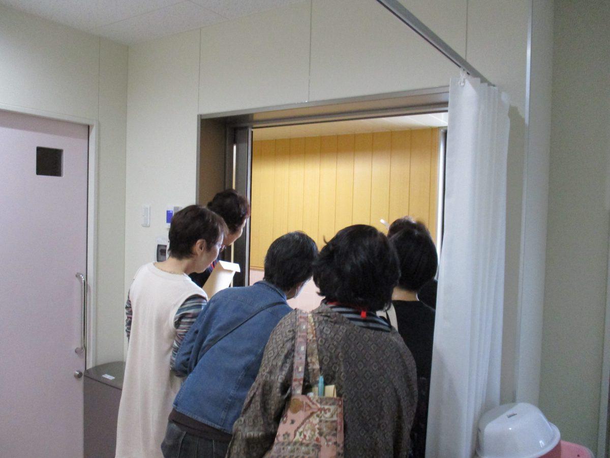 河合町傾聴ボランティアの会が見学に来られました!